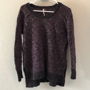 Free People Sweater- Purple